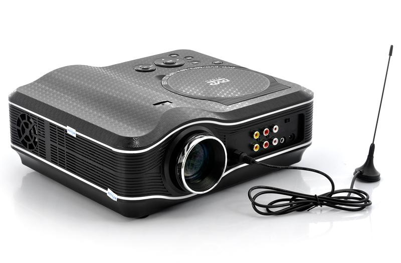 В комплект входит: Мультимедийный светодиодный проектор Блок питания AV кабель Пульт дистанционного управления ТВ...